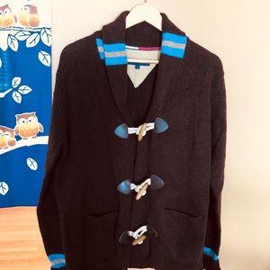 New-Tommy Hilfiger lambswool Men sweater cardigan